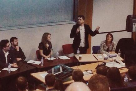 Stirling's Yes Scotland and Better Together Campaigns Give Their Case at #stirdebate