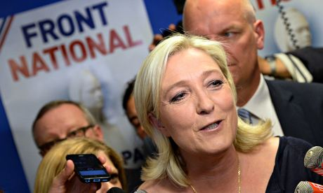 MARINE LE PEN: Leader of Front National