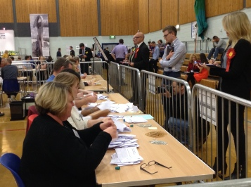 THE COUNT: Counting began nation-wide when polls closed at 10pm