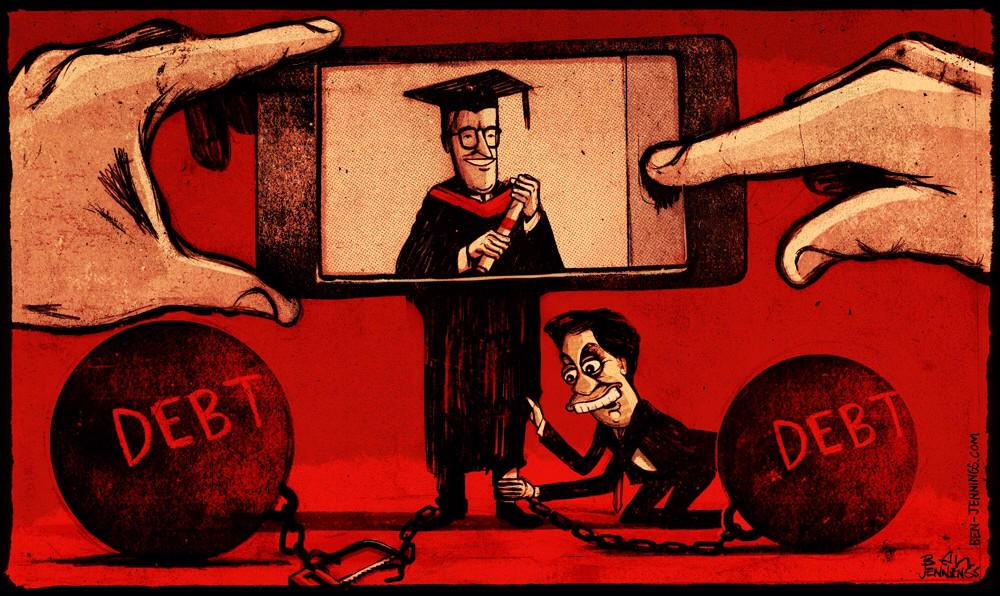 Ben Jennings' cartoon in today's i on Saturday