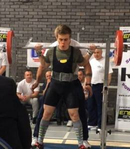 Powerlifting meet in Dundee.