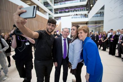 "First Minister opens ""world class"" Riverside campus"