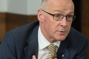 John Swinney, Scottish Finance Secretary