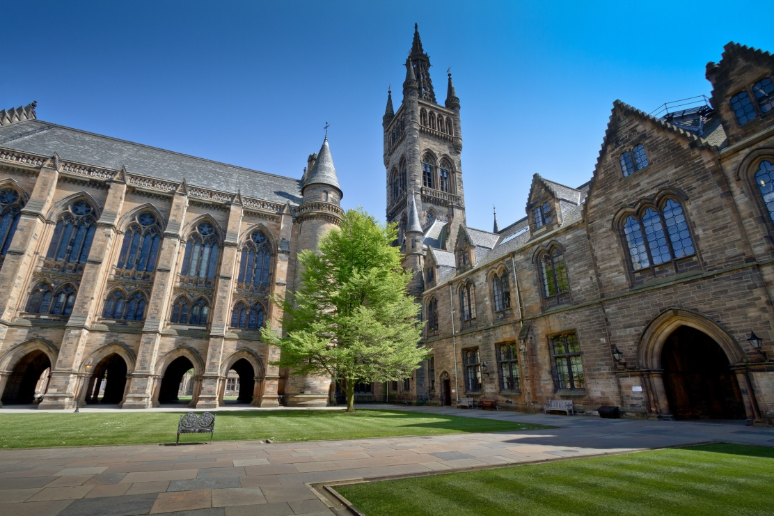 Picture of University of Glasgow quadrangle